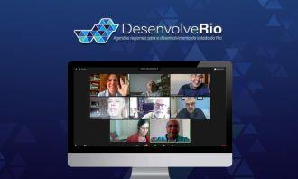 Projeto Desenvolve Rio fará encontros virtuais para debater temáticas regionais