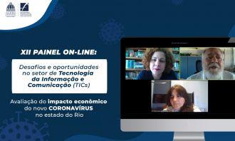 Impacto da Covid-19 no mercado de TI fluminense é debatido em painel