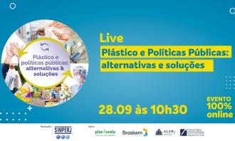 Alerj participa de live que irá debater ações para reduzir o impacto do plástico