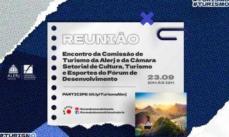 Fórum promoverá reunião entre Câmara Setorial e Comissão de Turismo da Alerj