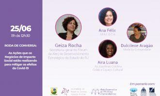Roda de Conversa debaterá iniciativas de negócios sociais em tempos de pandemia