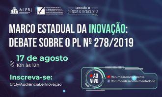Alerj retoma debate sobre inovação no estado do Rio