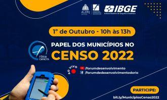 Fórum realiza workshop sobre o papel dos municípios no Censo 2022
