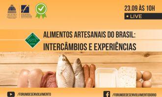 Fórum promove intercâmbio de experiências sobre alimentos artesanais do Brasil