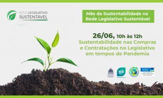Rede Legislativo Sustentável promove capacitação de compras e contratação sustentáveis