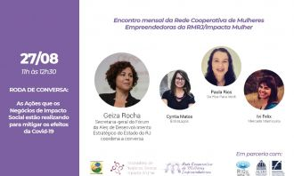 Rio de Impacto realiza painel sobre ações de impacto social de combate à pandemia de Covid-19