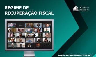 Alerj debate continuidade do Plano de Recuperação Fiscal  do Estado