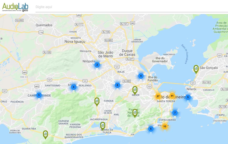 Rio Ganha Mapa Sonoro De Seus Principais Pontos Turisticos